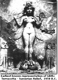 Lilith - Sumerian Relief
